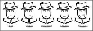 The Many Faces of Spy Guy I