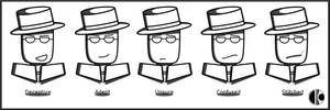 The Many Faces of Spy Guy II by Daking9