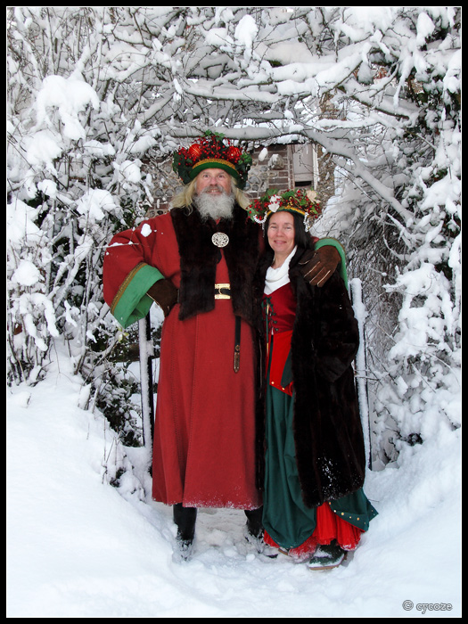 Mother Christmas.Father And Mother Christmas By Cycoze On Deviantart