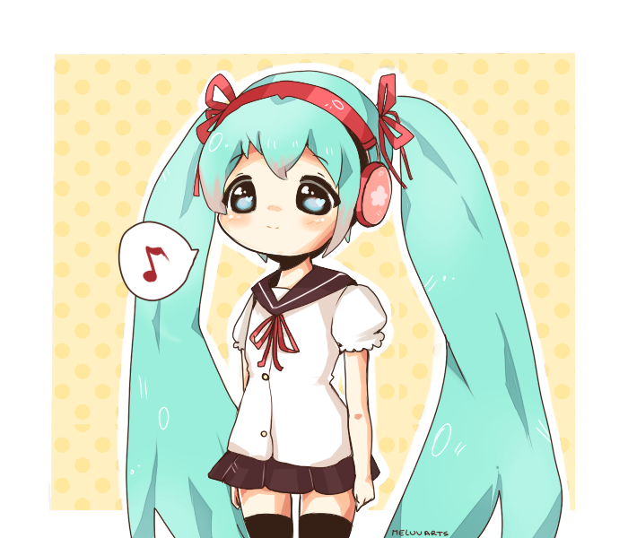 Miku-tan by MeluuArts