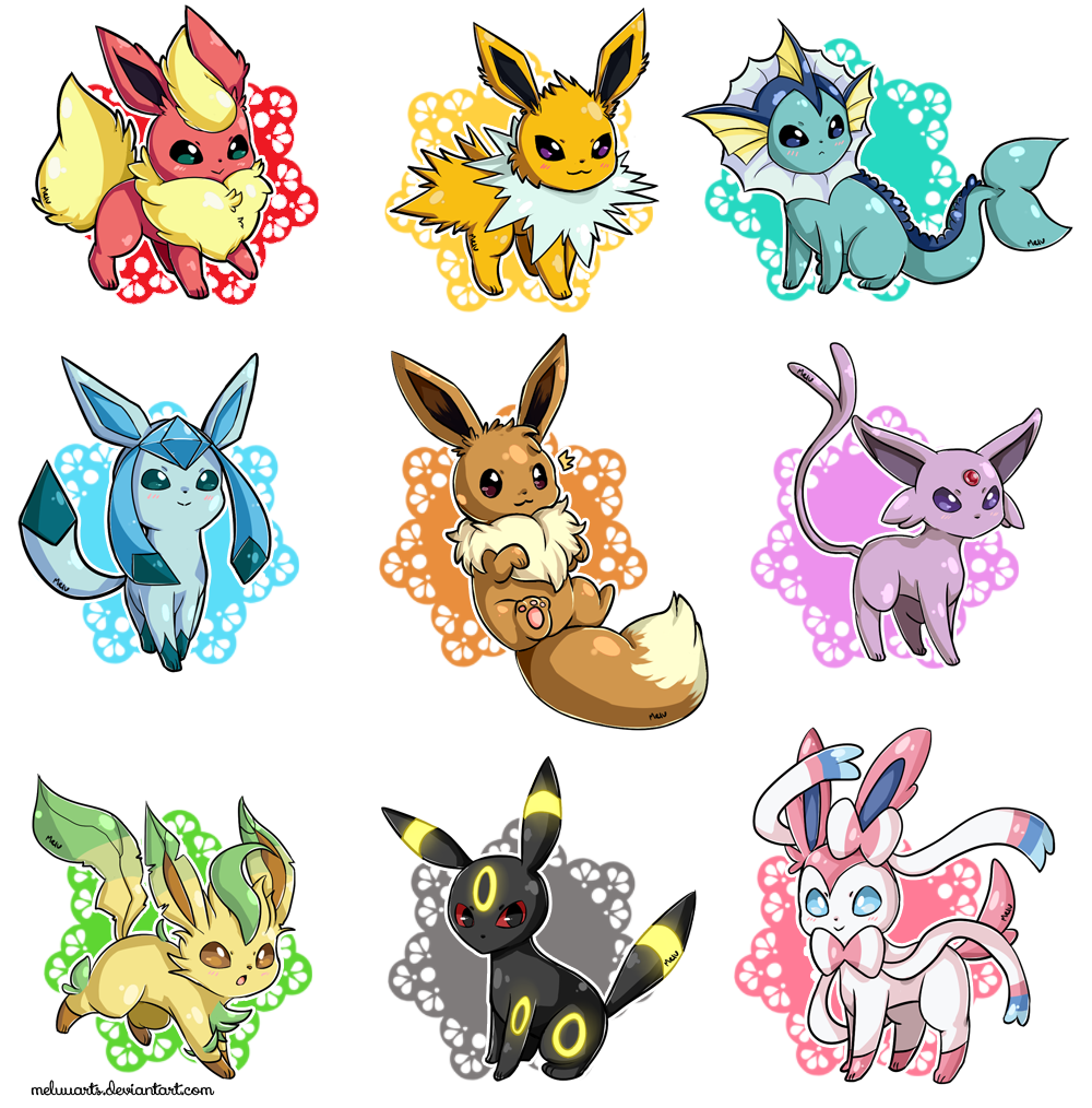 eeveelutions chibi wallpaper - photo #42