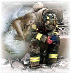 Angel wit Firefighter