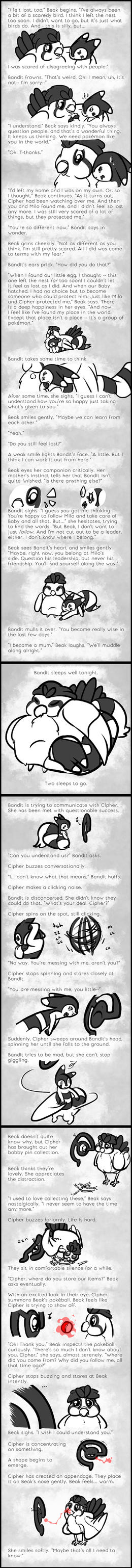 Courage - Event 06: Quiet Conversations (2) by Lost-Paperclip