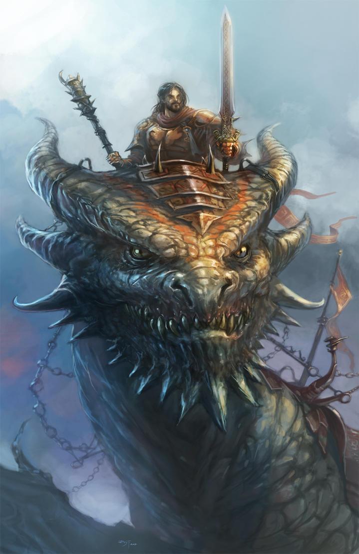 dragon brave fantasy warrior - photo #7