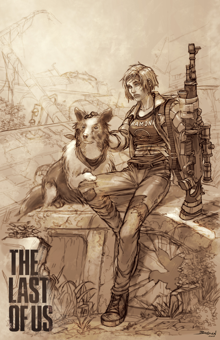 The Last Of Us by Brolken