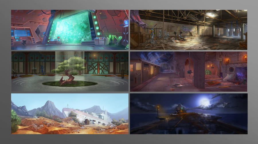 Backgrounds by Brolken
