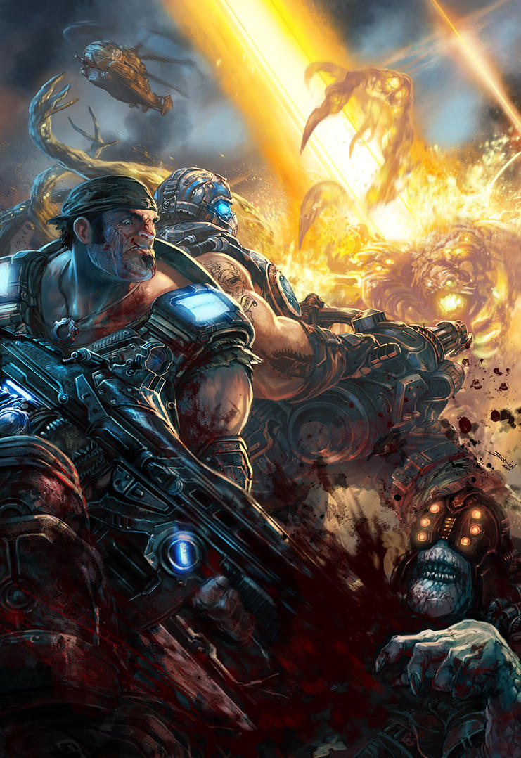 Gears of War . The hammer of dawn by Brolken