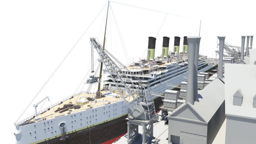 RMS Goliath WIP 5