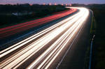 M3 Motorway Traffic Trails - 1