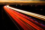 M3 Motorway Traffic Trails - 2
