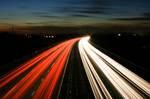 M3 Motorway Traffic Trails - 4