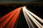 M3 Motorway Traffic Trails - 5