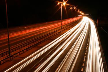 M25 Motorway Traffic Trails 2