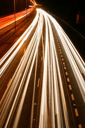 M25 Motorway Traffic Trails 4
