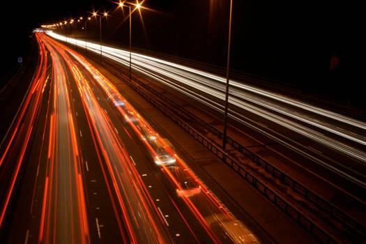 M25 Motorway Traffic Trails 5