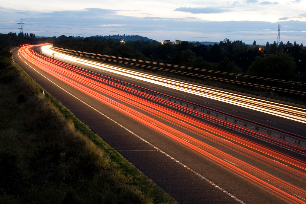 Motorway at Night - 3