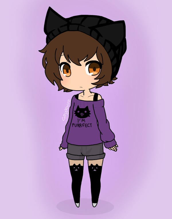 Cat Outfit for Seto by GaykuroHomomura