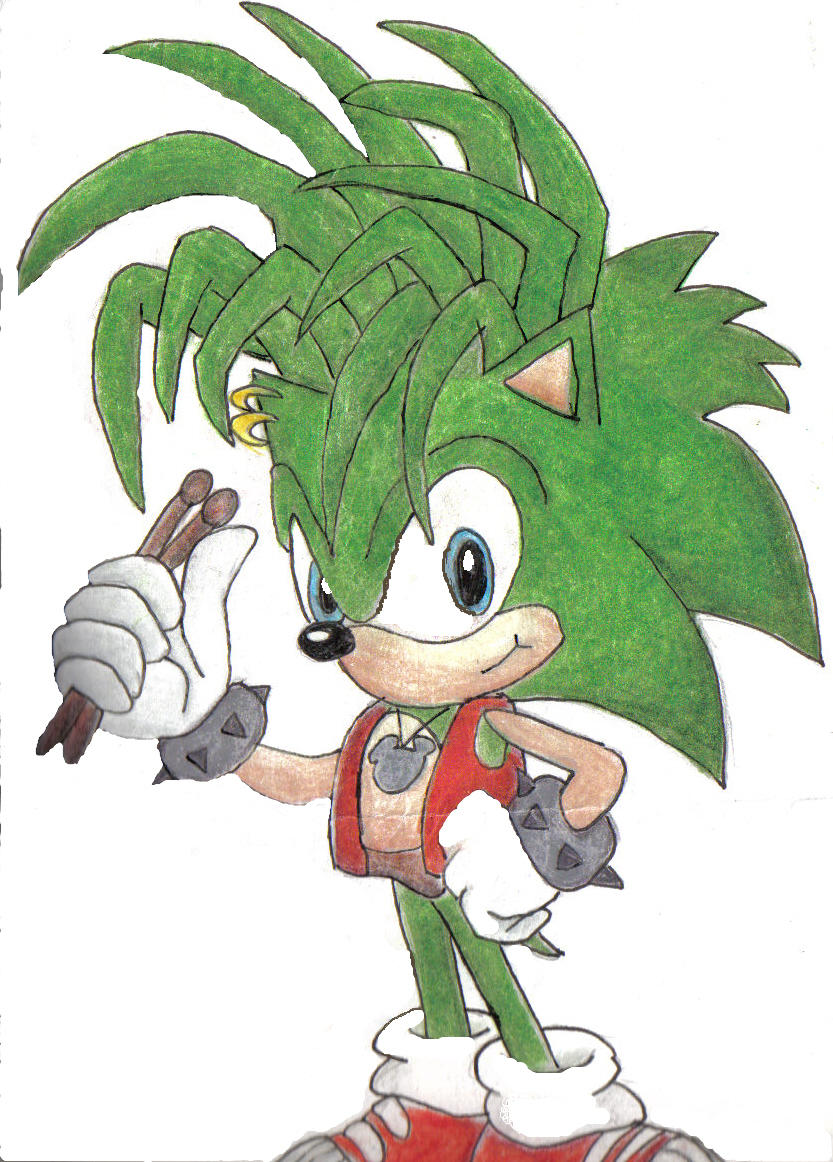Manic The Hedgehog by shamankid on DeviantArt