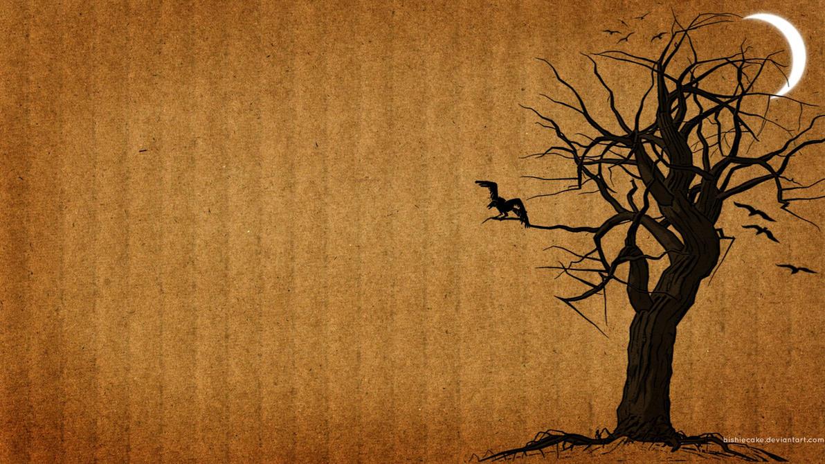 halloween wallpaper by bishiecake