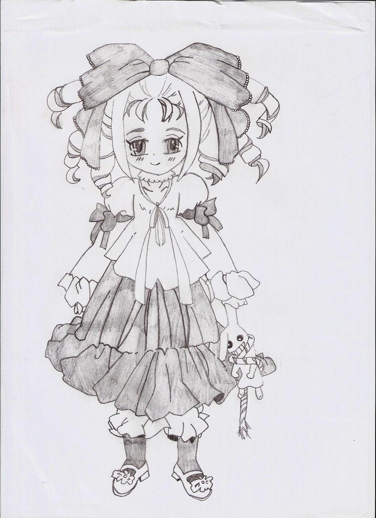 Sweet evil girl by RawrSheepy