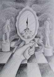 Mirror mirror on the wall by RiversOfHell