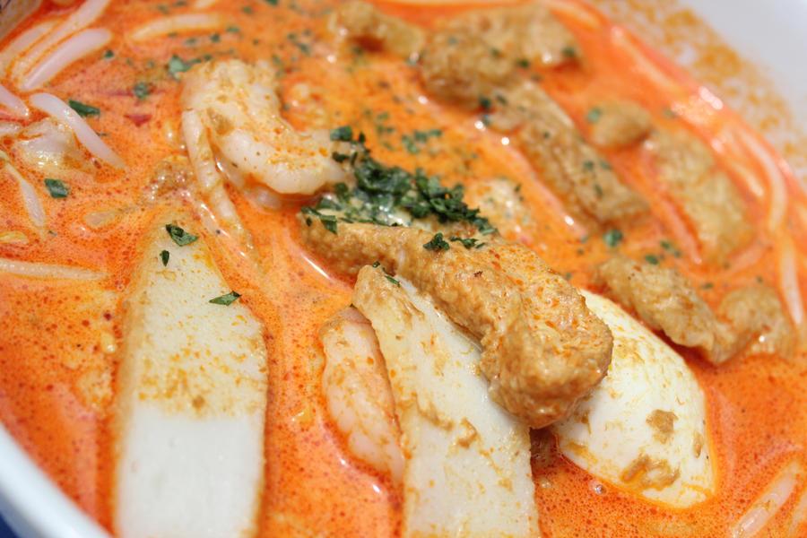 Singapore Food: Laksa by TsubakiG on DeviantArt