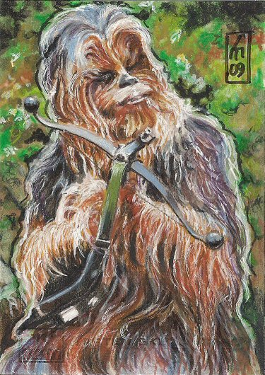 dessins et affiches star wars - Page 16 SW_Galaxy_IV___Chewbacca_by_OMangueOTangue