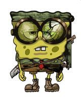 spongebob apocalypse pants by headbangking