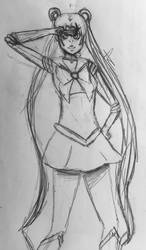 Sailor Moon by Apfel-Zimt