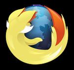 Fennekin Firefox Logo (With Icon)