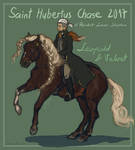 Leopold and Velvet for Fox Chase 2017 by Pokoniu