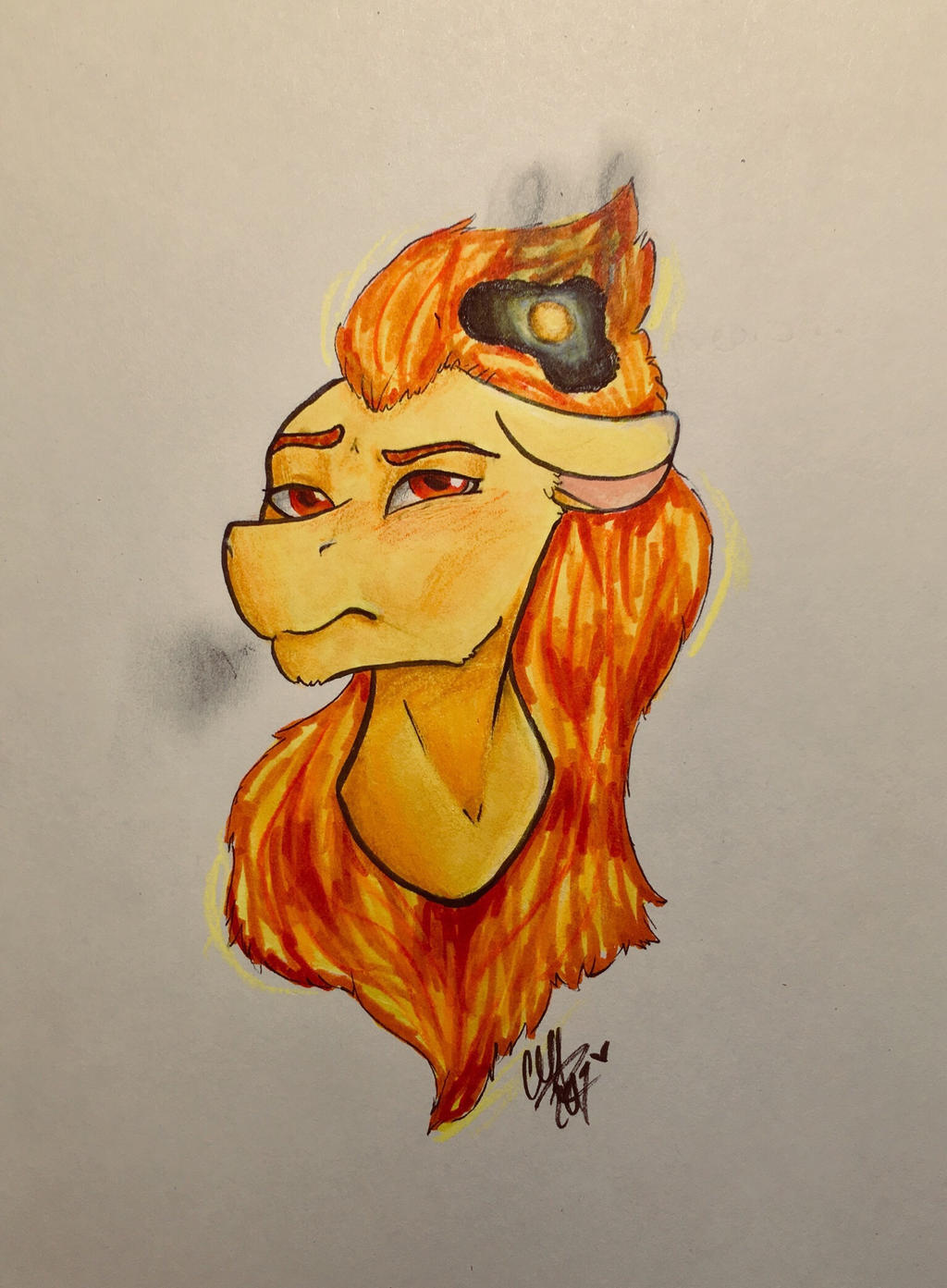 Burnt Egg || Contest Prize by Snerdsister