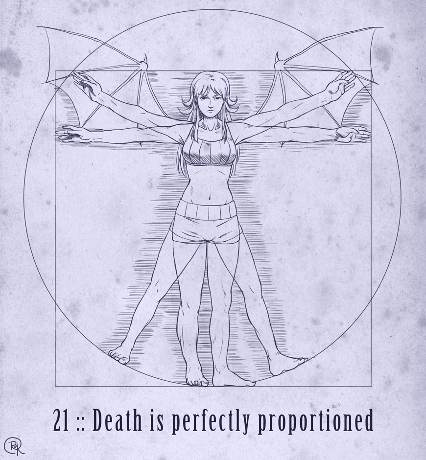 21 :: Death is perfectly proportioned by VoxGraphicaStudio