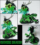Pipecleaner Chinese dragon