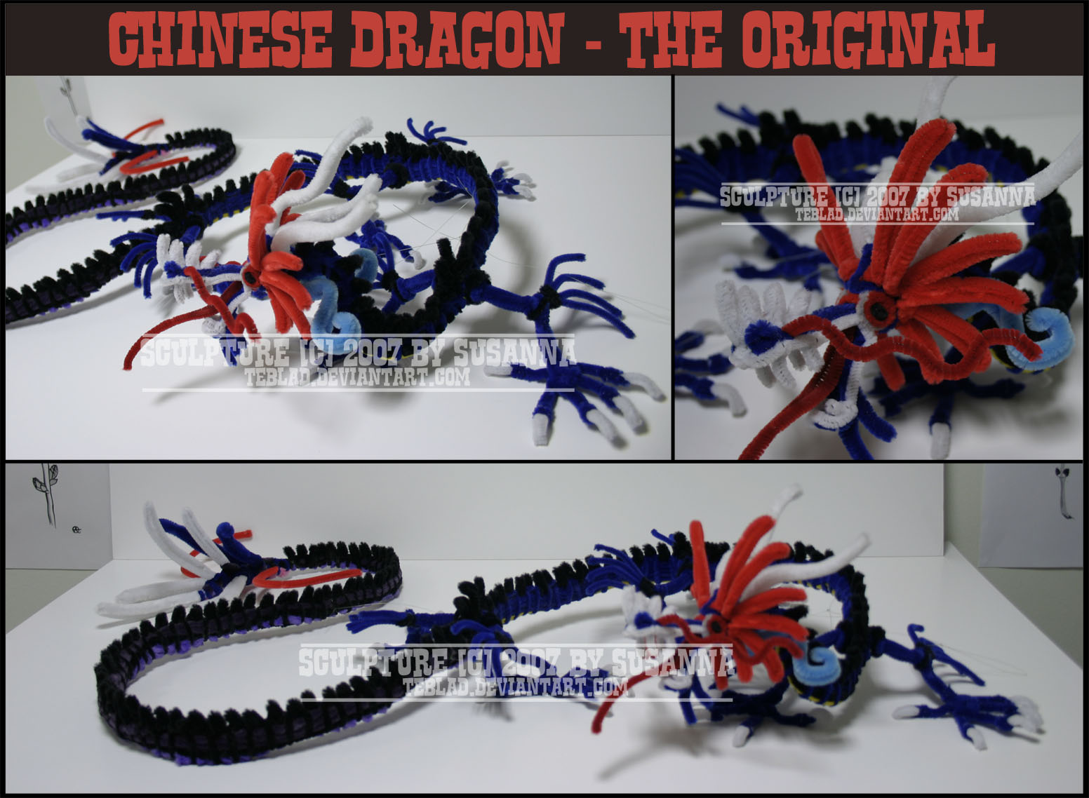 The original chinese dragon by teblad