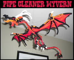 Pipecleaner Wyvern by teblad