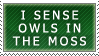 Owls in the moss stamp by teblad