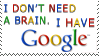 Google stamp by teblad