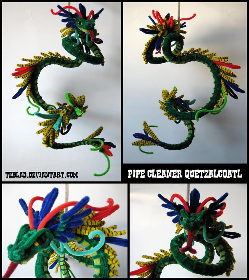 Pipecleaner Quetzalcoatl
