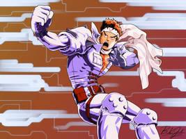 Marvel vs Capcom-Jin Saotome by BookerJ
