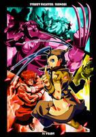 street fighter: shinobi by BookerJ