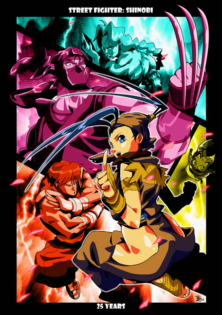 street fighter: shinobi by BookerJ