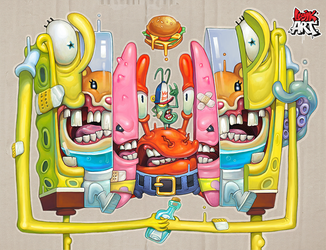 SpongeBob by OlegEvteev