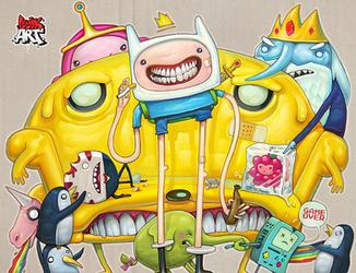 Adventure Time by OlegEvteev