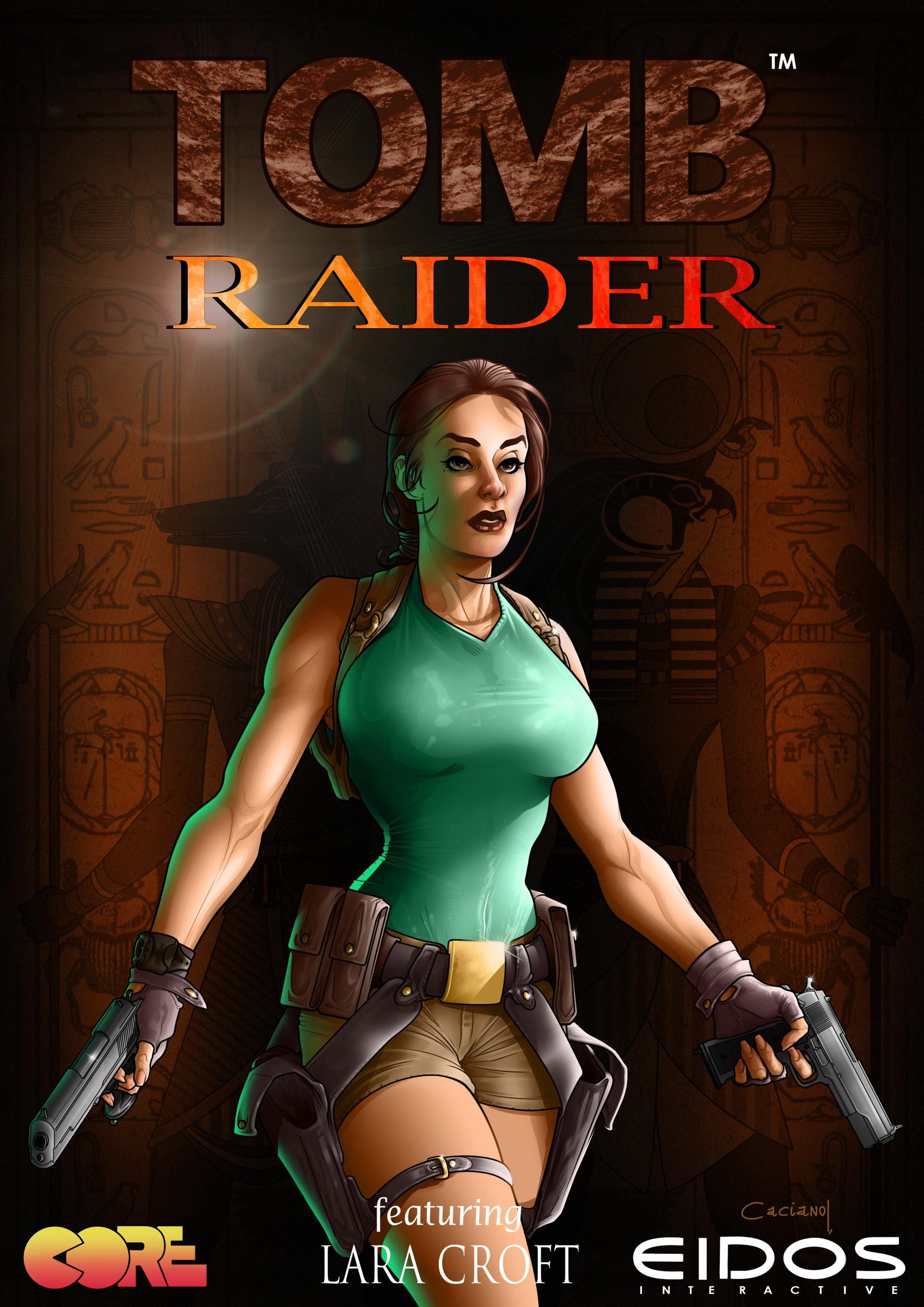 Tomb Raider 1 Remake By Caciano Alison On Deviantart