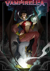 Vampirella by Caciano-Alison