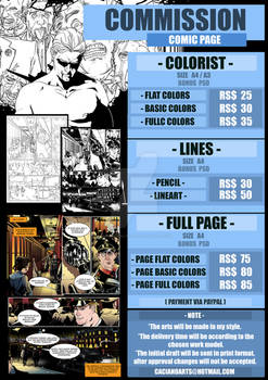COMMISSIONS PAGES OPEN