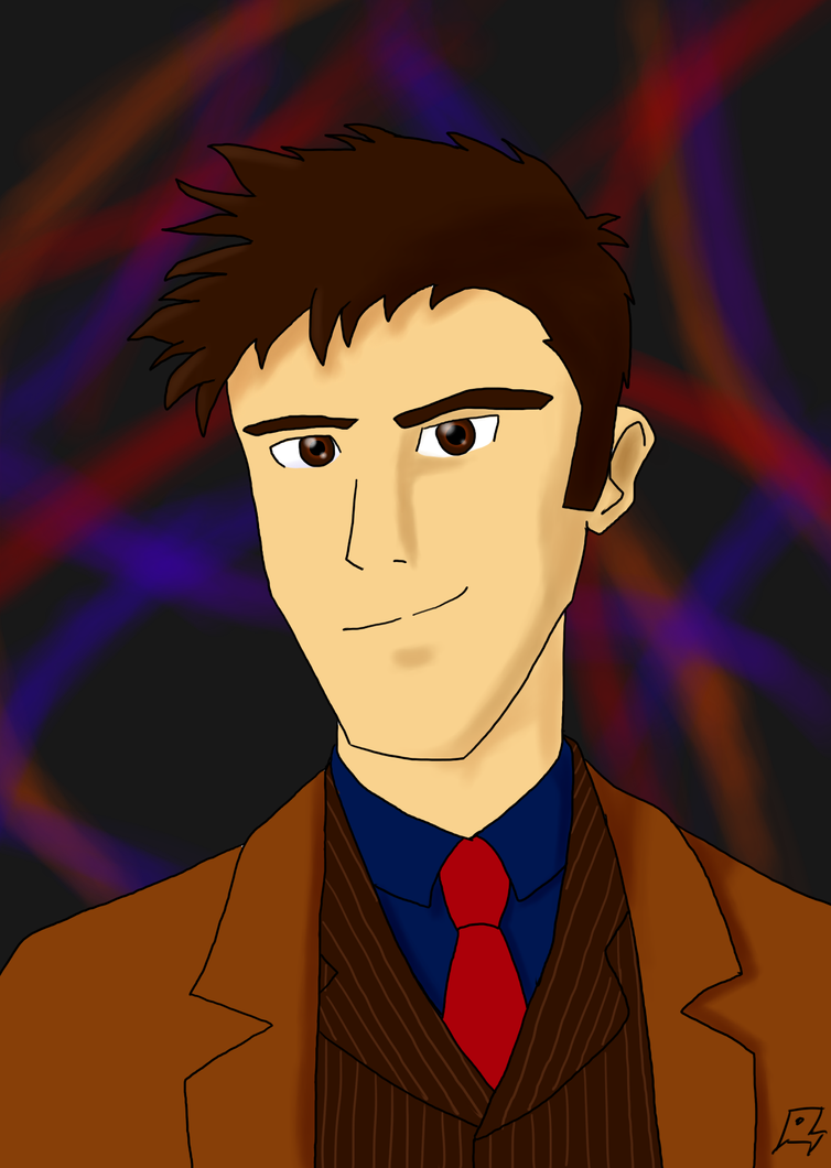Tenth Doctor: Brown Suit by MegaArtist923
