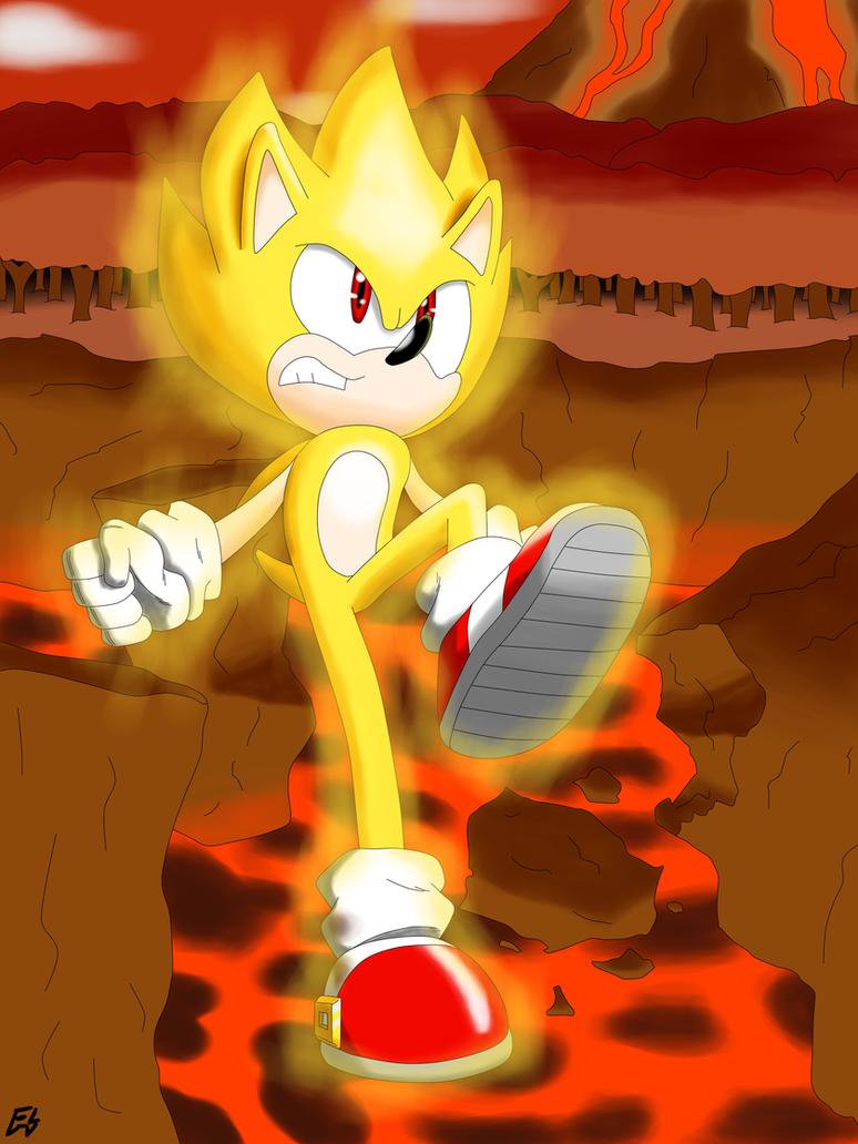 Super Sonic Apocalypse by MegaArtist923