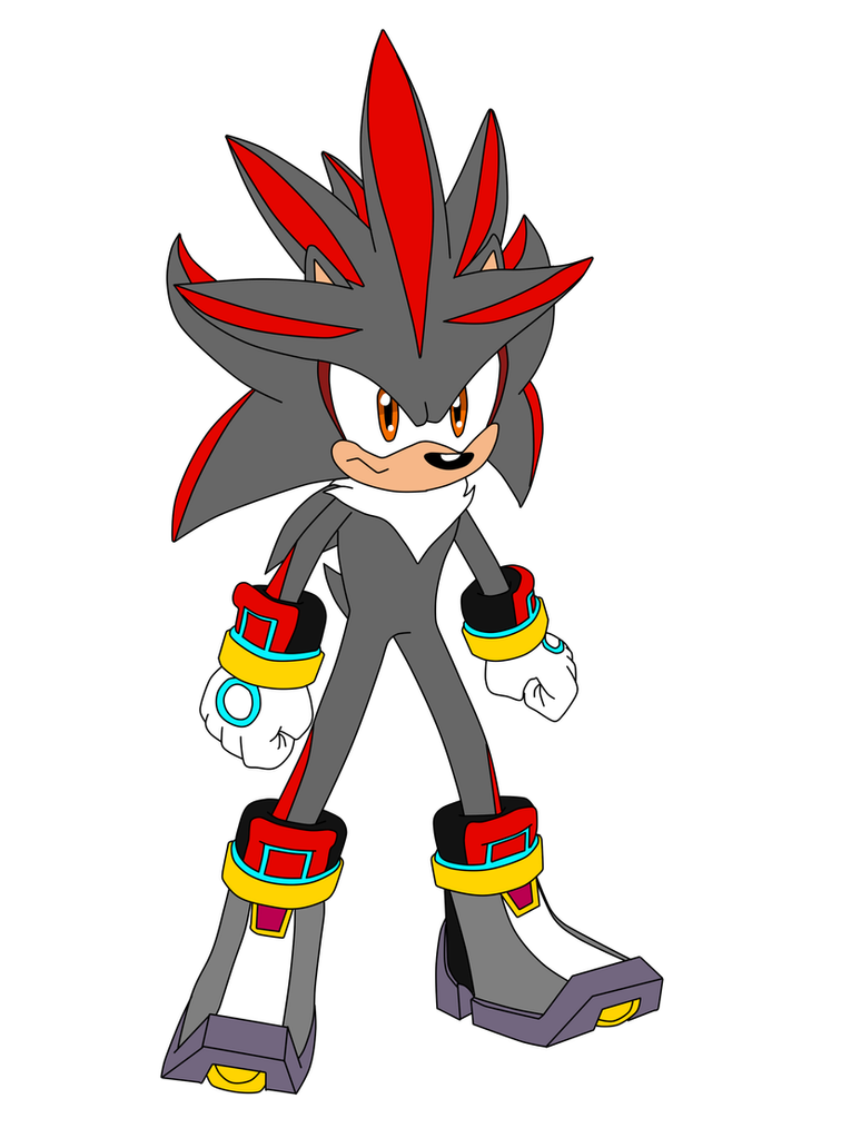 Shadver (Shadow + Silver Fusion by MegaArtist923 on DeviantArt